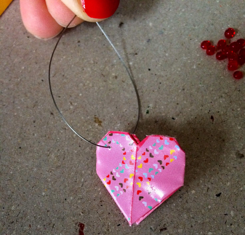 Conosciuto orecchini con cuore origamiBijoux e creatività BH69