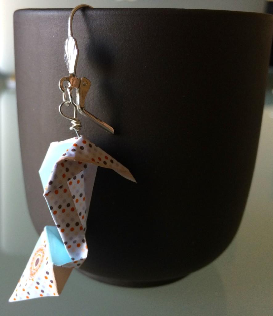 dettaglio scarpa origami