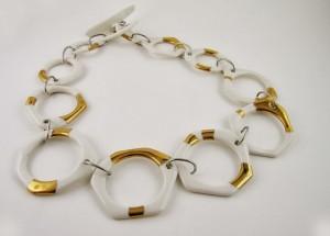 collana ceramica di Limonges Carmen Scar