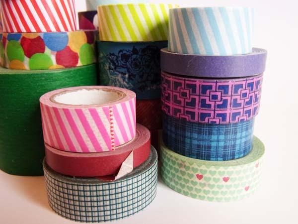 washi tape diverse larghezze