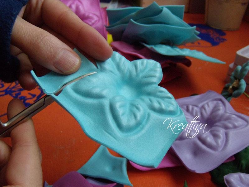 Come tagliare la gomma crepla