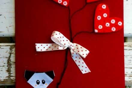 biglietto origami gomma crepla