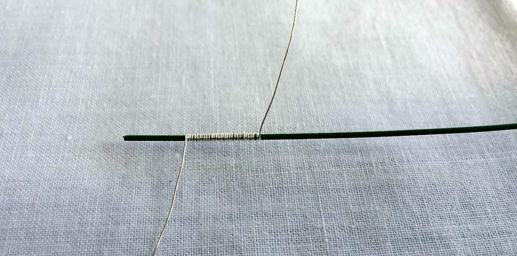 spirale di filo metallico wire