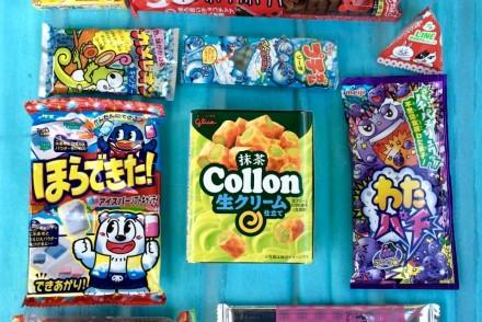contenuto della Japanese Candy box