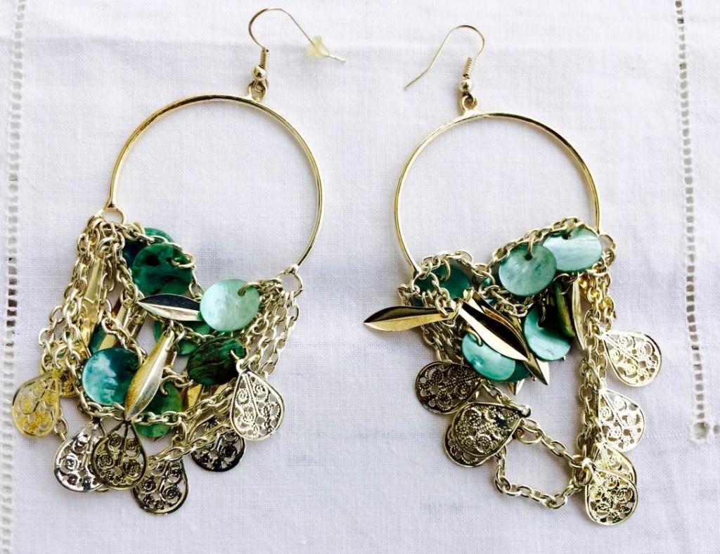 orecchini da riciclare di bijoux e dintorni