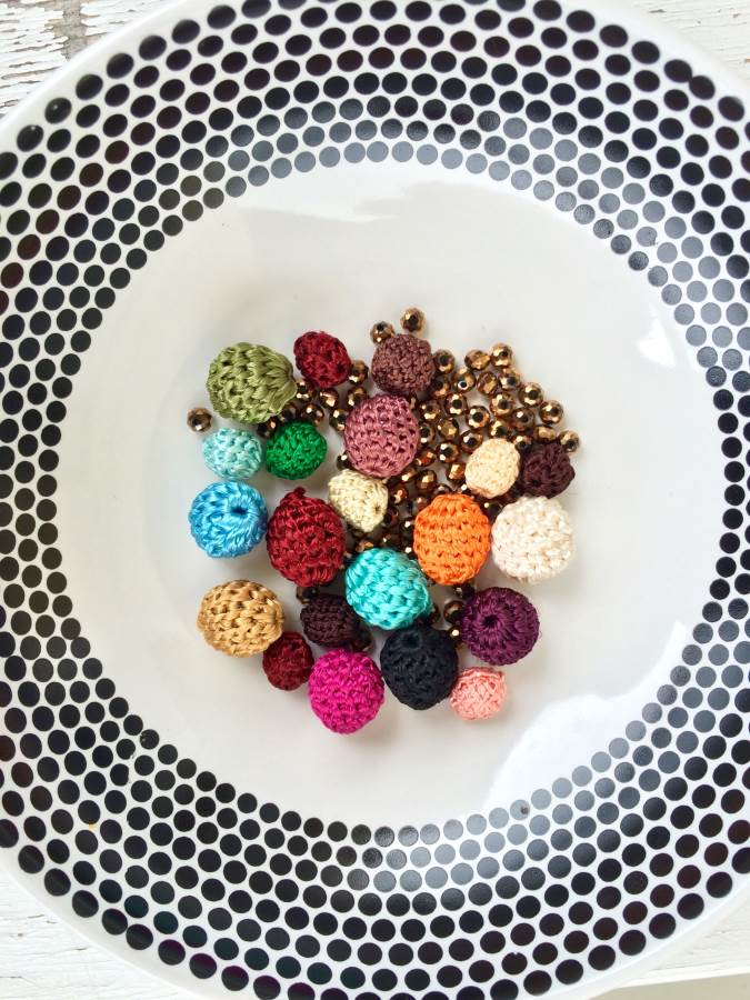 perle di cotone riciclate di bijoux e dintorni