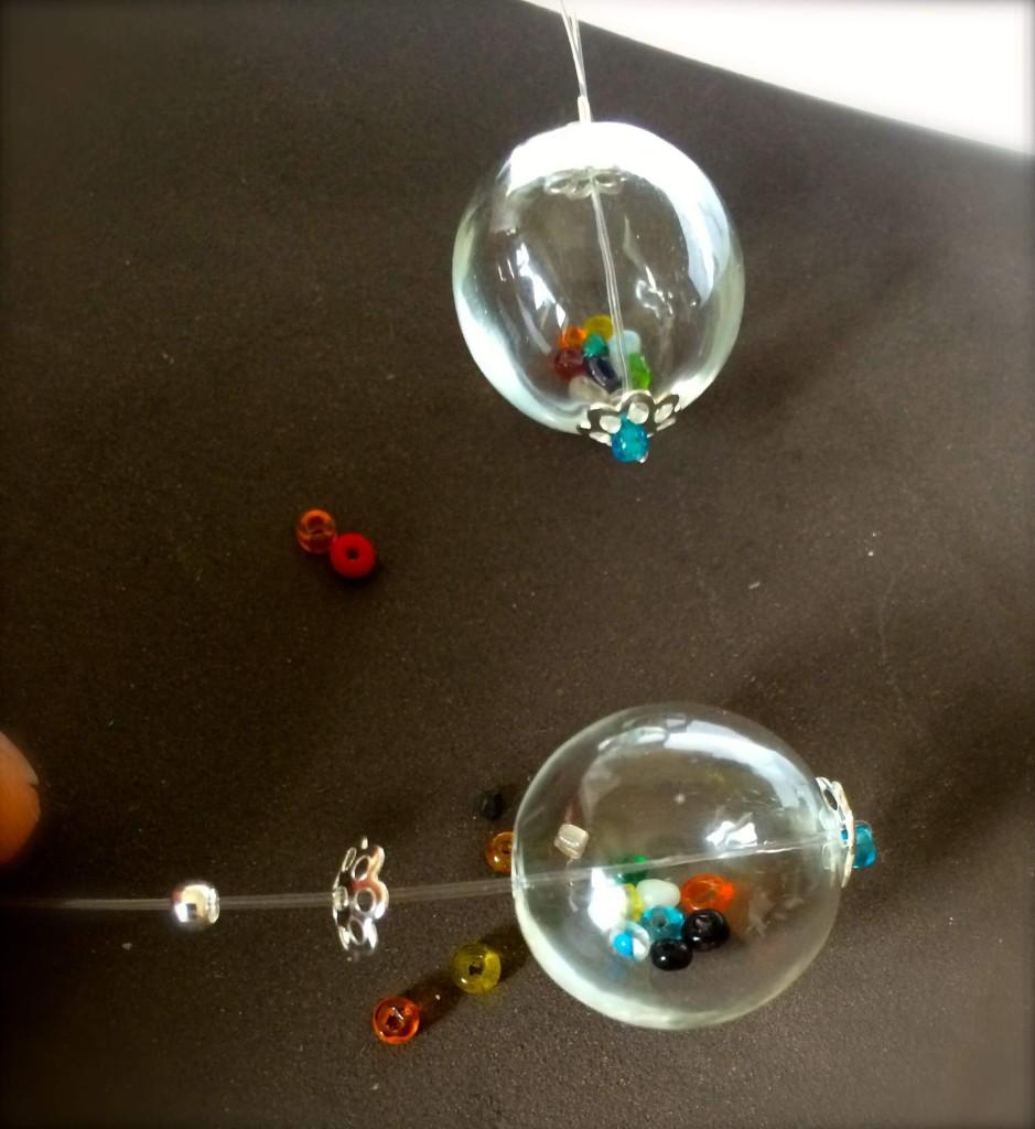 perline di vetro per orecchini di bijoux e dintorni