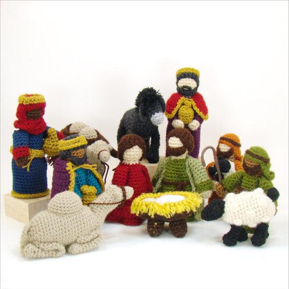 Natale alluncinetto: il presepe amigurumi - Bijoux e ...