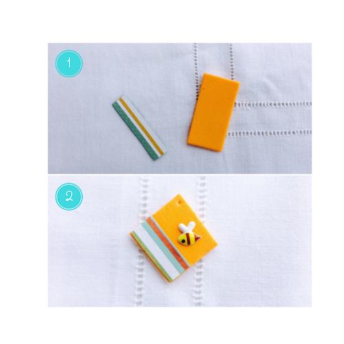tutorial per fare orecchini di gomma crepla