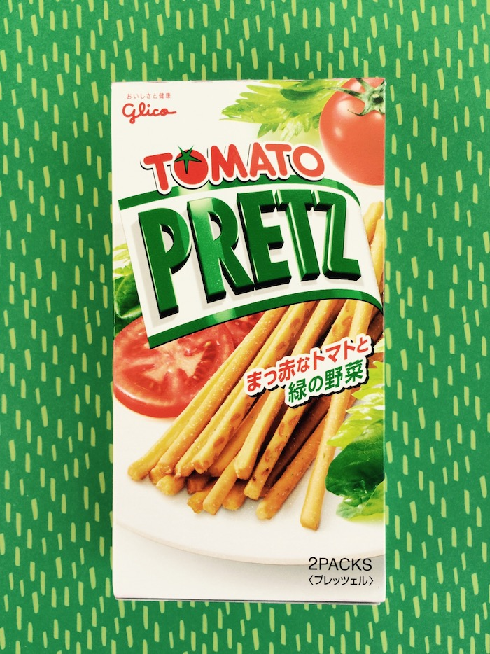 snack della Japan Fun Box al gusto pomodoro