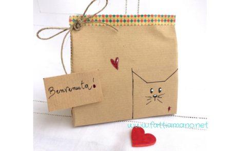pacchetto fai da te con gattino kawaii