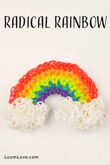 arcobaleno di rainbow looom