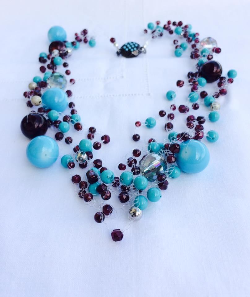 Favoloso collane fai da te: tre idee con le perle di granato - Bijoux e  LD85