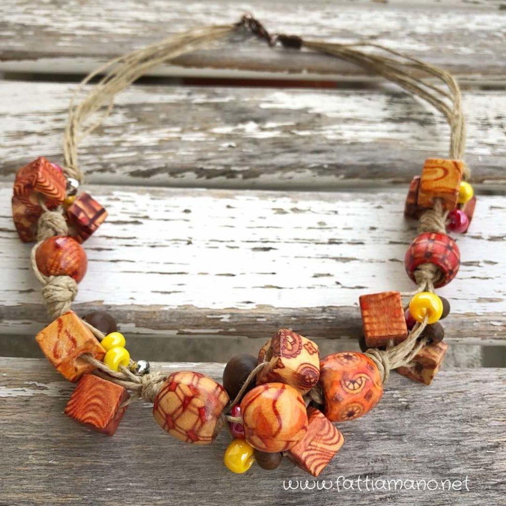 Legno Idee Fai Da Te 4 idee per collane fai da te estive – bijoux e creatività