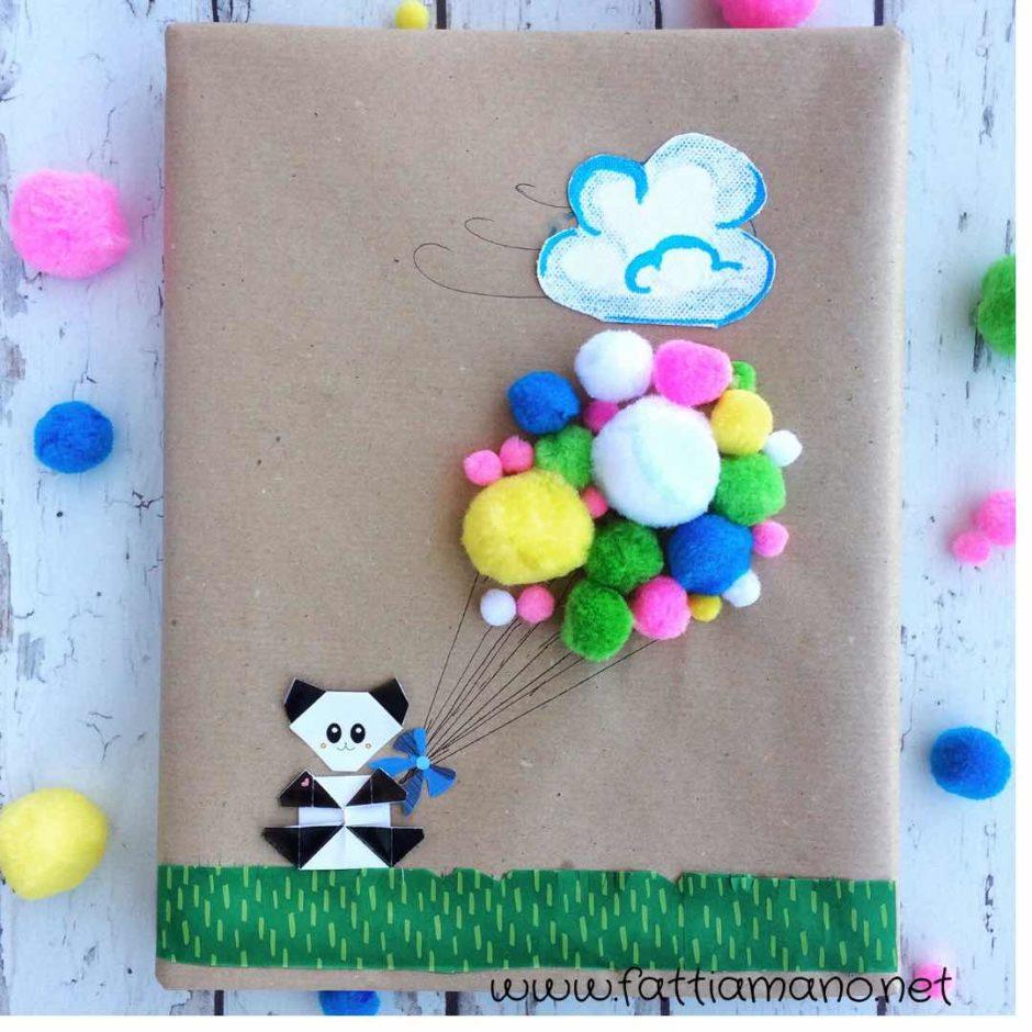 pacchetto regalo per bimbi ispirato alla primavera